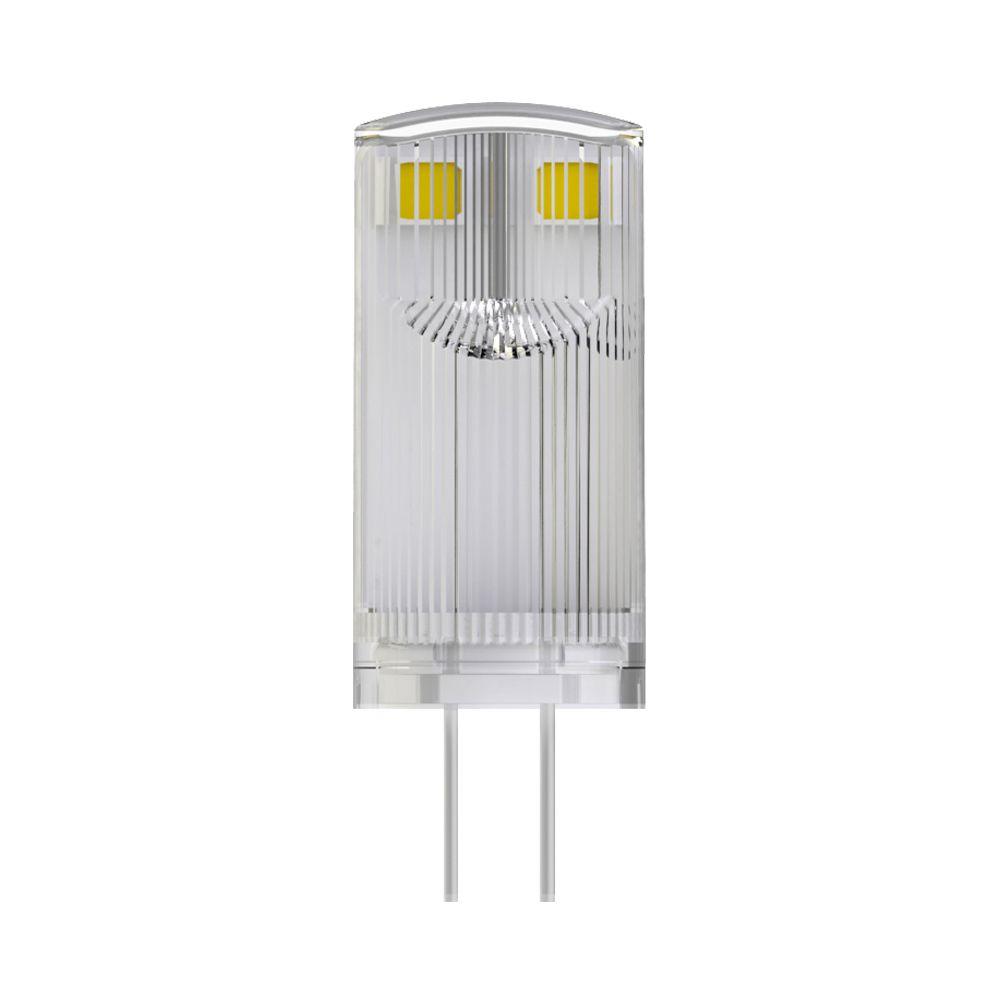 Noxion LED Bolt G4 0.9W 827 12V | Extra Warmweiß - Ersatz für 10W