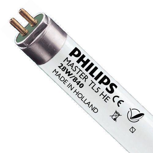 Philips TL5 HE 28W 840 (MASTER) | 115cm - Kaltweiß