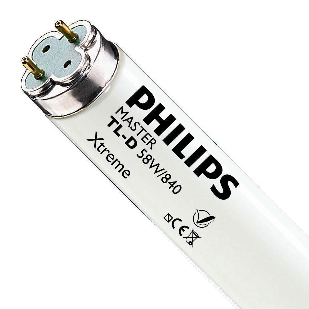 Philips TL-D Xtreme 58W 840 (MASTER)   150cm - Kaltweiß