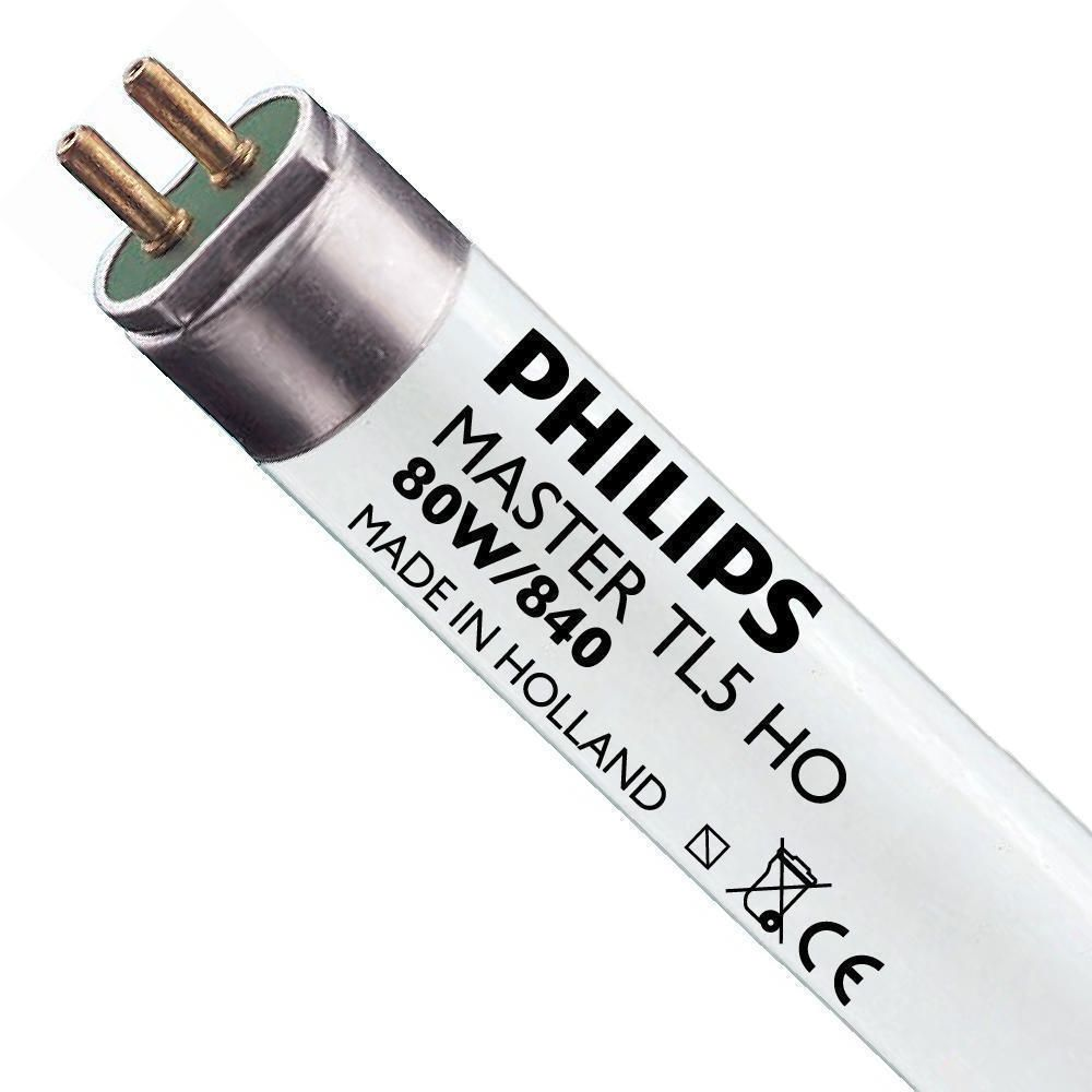 Philips TL5 HO 80W 840 (MASTER) | 145cm - Kaltweiß