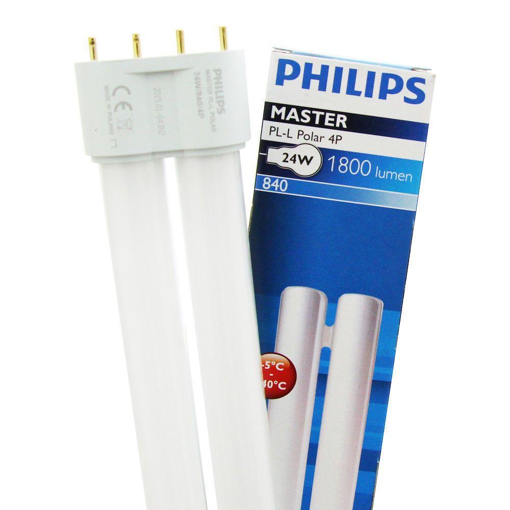 Philips PL-L Polar 24W 840 4P (MASTER)   Kaltweiß - 4-Stift