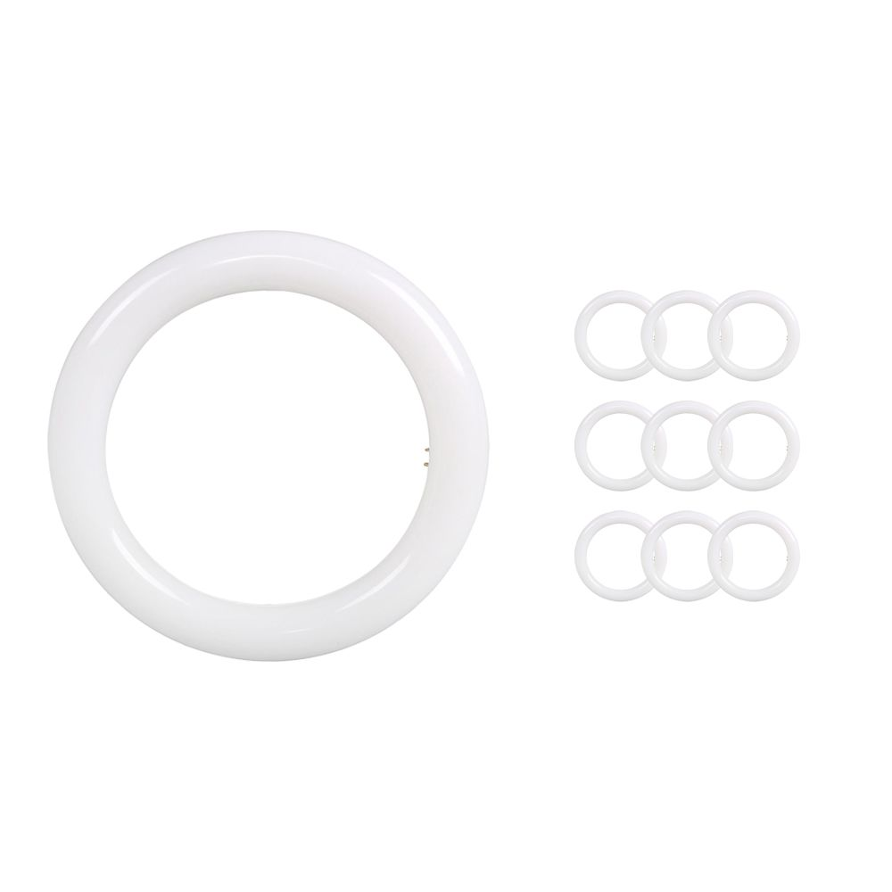 Mehrfachpackung 10x Noxion Avant LED T9 Tube Circular EM/MAINS G10q 20W 830 | Warmweiß - Ersatz für 40W
