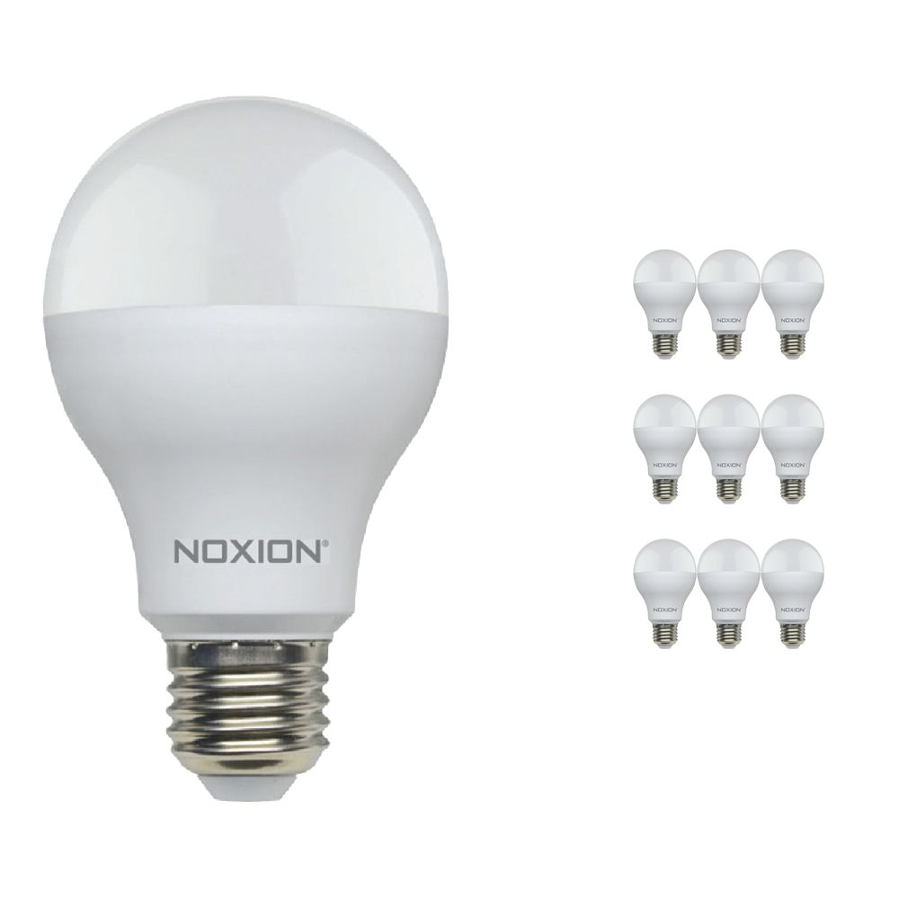 Mehrfachpackung 10x Noxion Lucent LED Classic 14W 827 A60 E27   Dimmbar - Extra Warmweiß - Ersatz für 100W