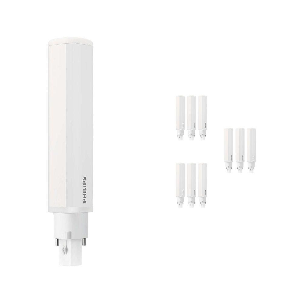 Mehrfachpackung 10x Philips CorePro PL-C LED 8.5W 840 | Kaltweiß - 2-Pins - Ersatz für 26W