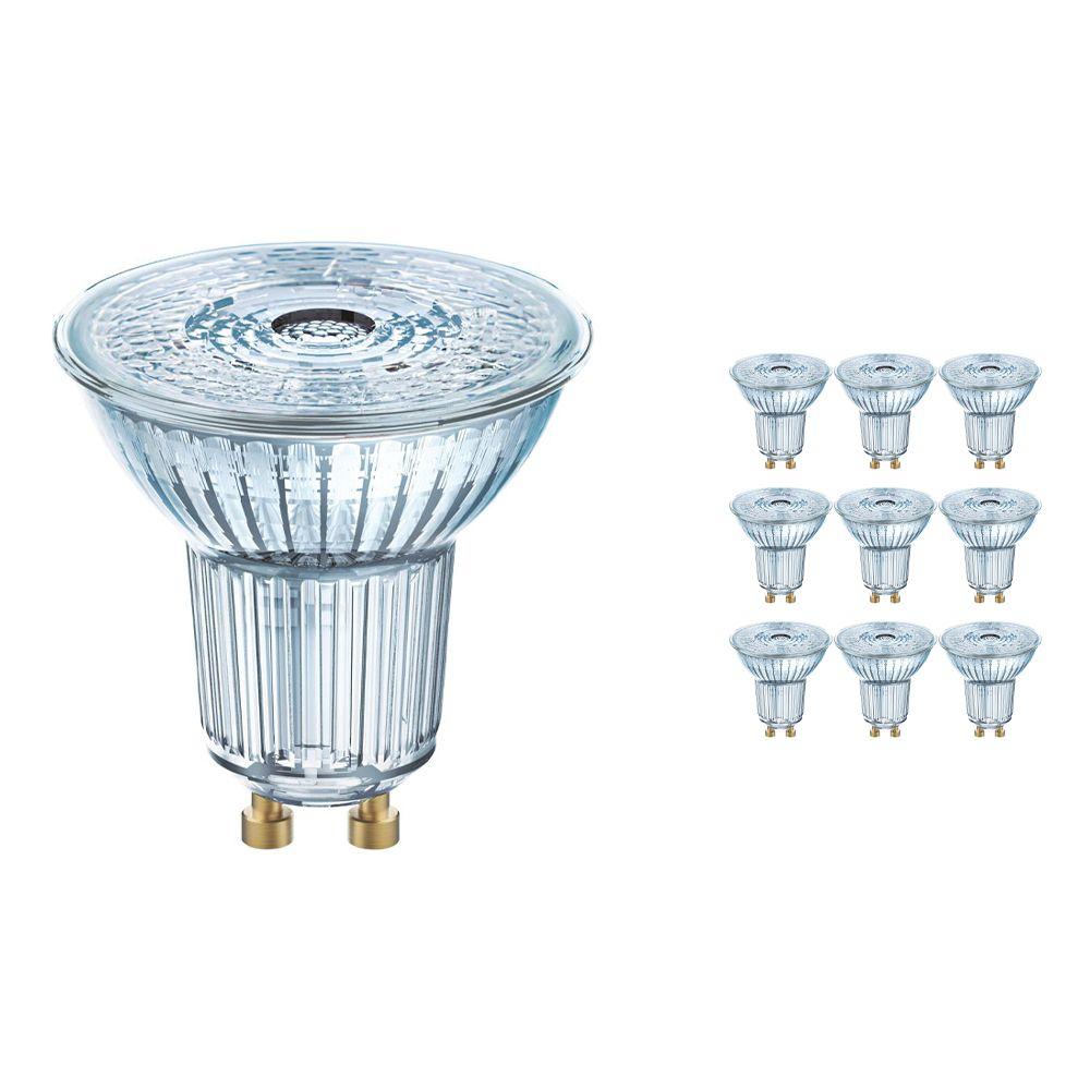 Mehrfachpackung 10x Osram Parathom GU10 PAR16 2.6W 827 36D | Extra Warmweiß - Ersatz für 35W