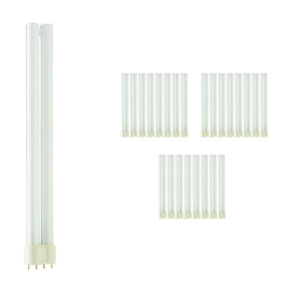 Mehrfachpackung 25x Philips PL-L 24W 827 4P (MASTER) | Extra Warmweiß - 4-Pins