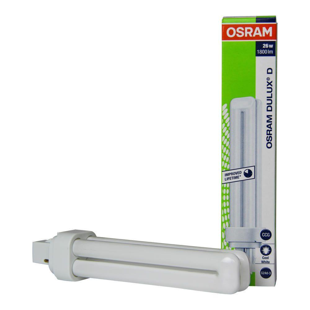 Osram Dulux D 26W 840 | Kaltweiß - 2-Stift