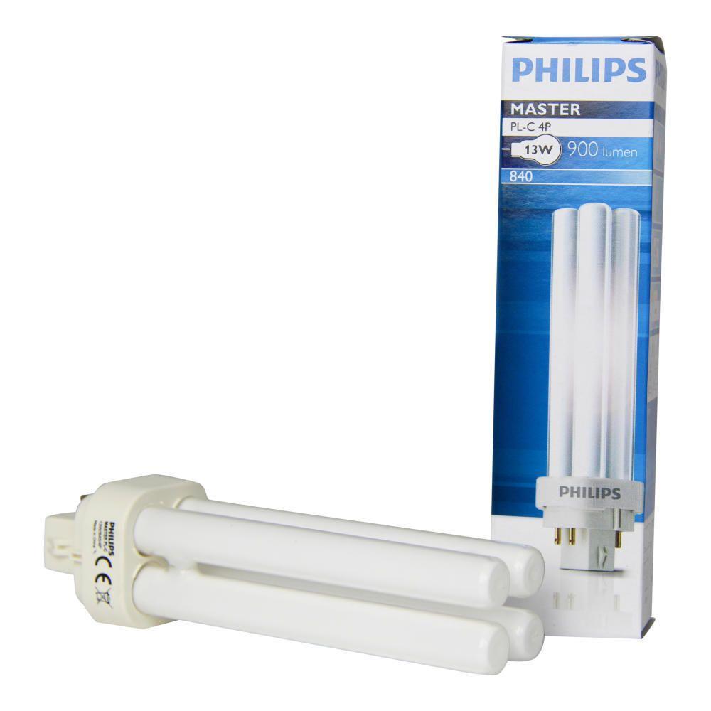 Philips PL-C 13W 840 4P (MASTER) | Kaltweiß - 4-Stift