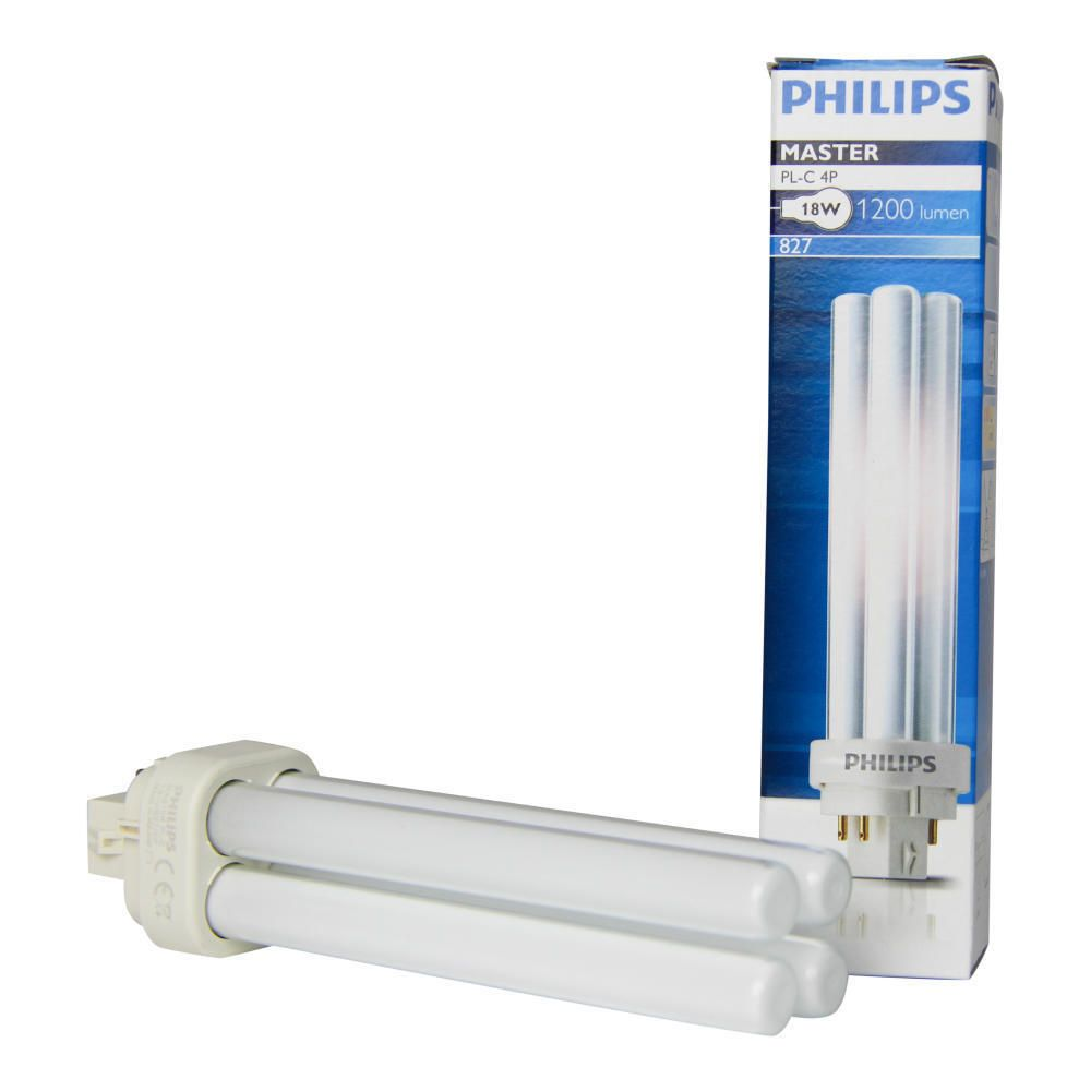 Philips PL-C 18W 827 4P (MASTER) | Extra Warmweiß - 4-Stift