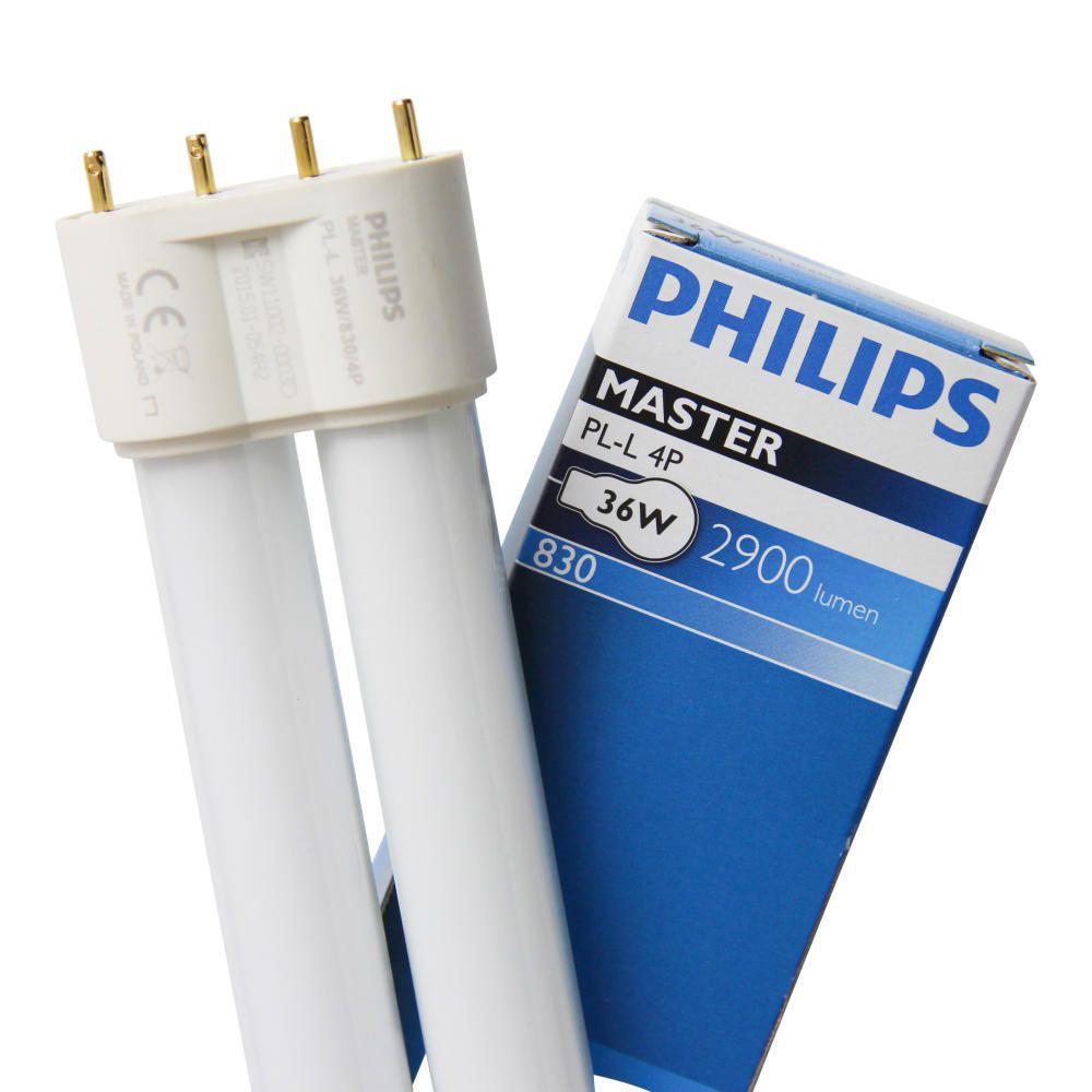 Philips PL-L 36W 830 4P (MASTER) | Warmweiß - 4-Stift