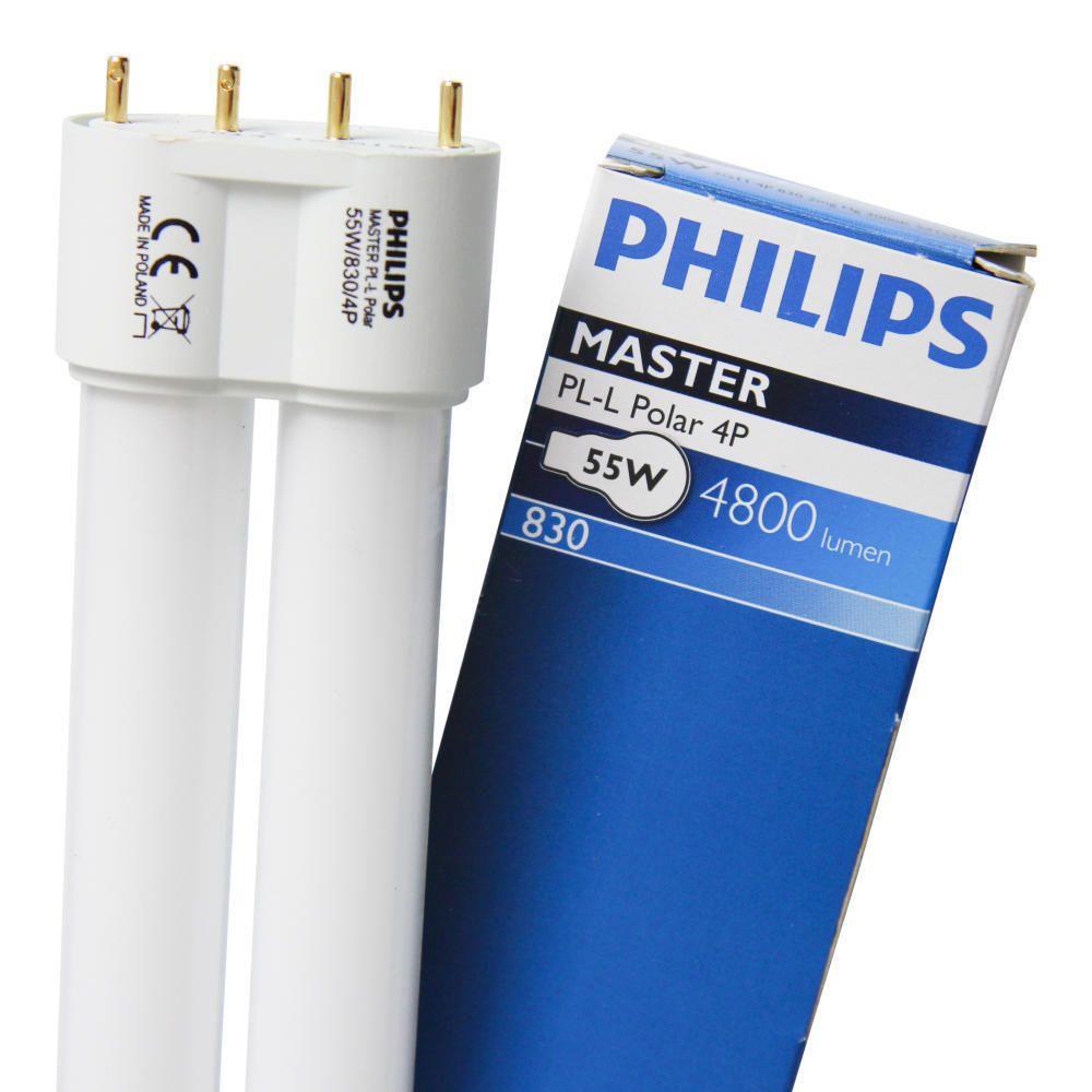 Philips PL-L 55W 830 4P (MASTER) | Warmweiß - 4-Stift