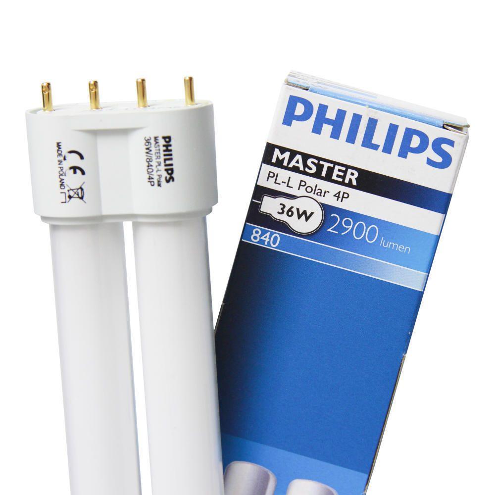 Philips PL-L Polar 36W 840 4P (MASTER)   Kaltweiß - 4-Stift