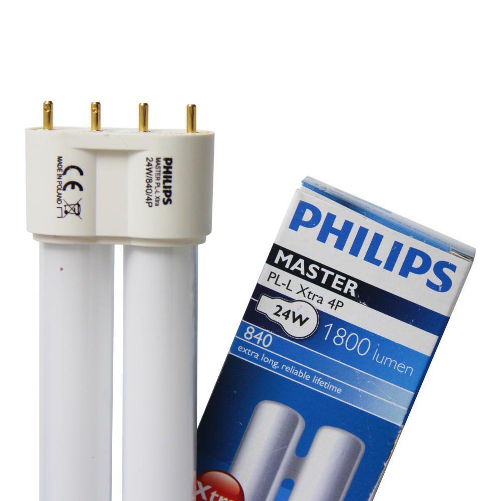 Philips PL-L Xtra 24W 840 4P (MASTER)   Kaltweiß - 4-Stift