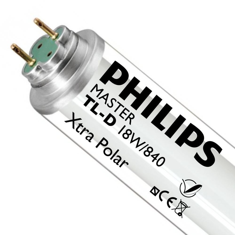 Philips TL-D Xtra Polar 18W 840 (MASTER) | 59cm - Kaltweiß