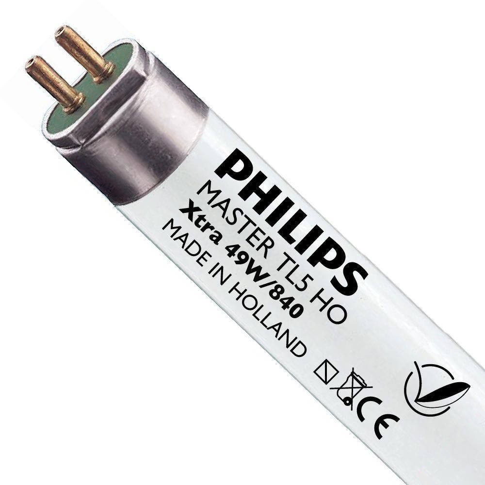 Philips TL5 HO Xtra 49W 840 (MASTER) | 145cm - Kaltweiß