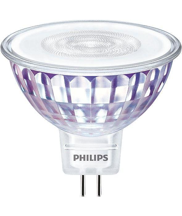 Philips LEDspot VLE GU5.3 MR16 7W 830 60D (MASTER) | Warmweiß - Dimmbar - Ersetzt 50W