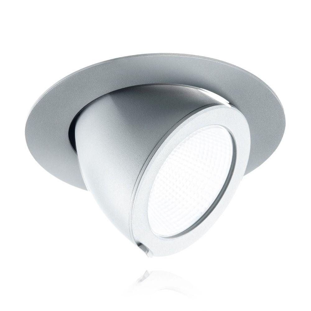 Noxion LED Deckenstrahler Forza 3000K 3000lm 36D Grau | Beste Farbwiedergabe - Ersetzt 70W CDM
