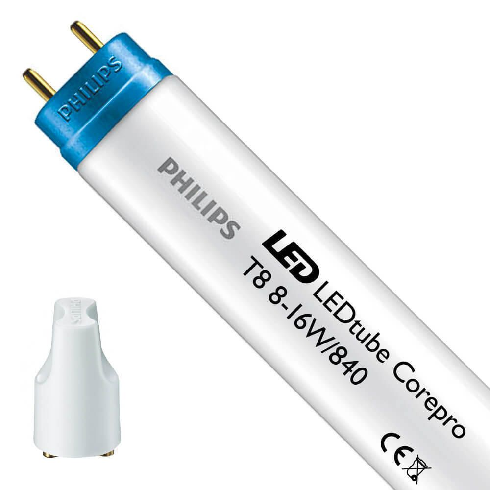 Philips CorePro LEDtube EM 8W 840 60cm | Kaltweiß - inkl. LED Starter - Ersetzt 18W