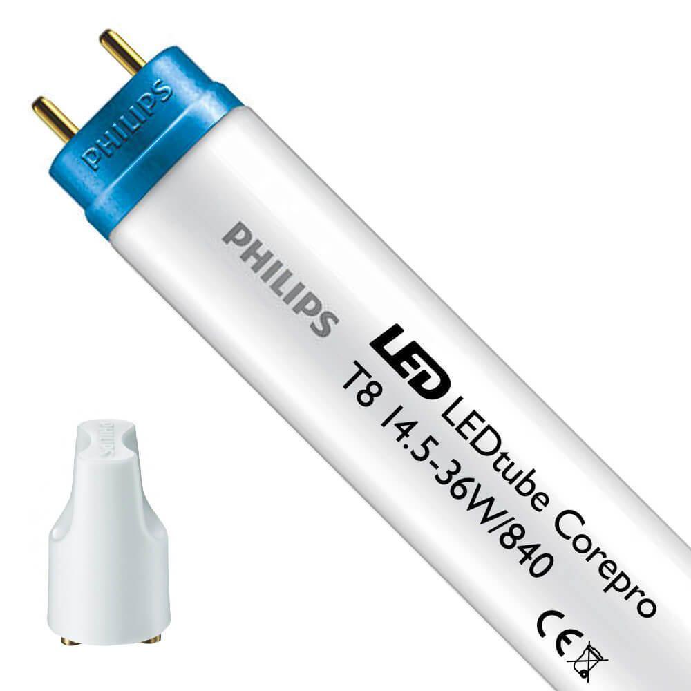 Philips CorePro LEDtube EM 14.5W 840 120cm | Kaltweiß - inkl. LED Starter - Ersetzt 36W