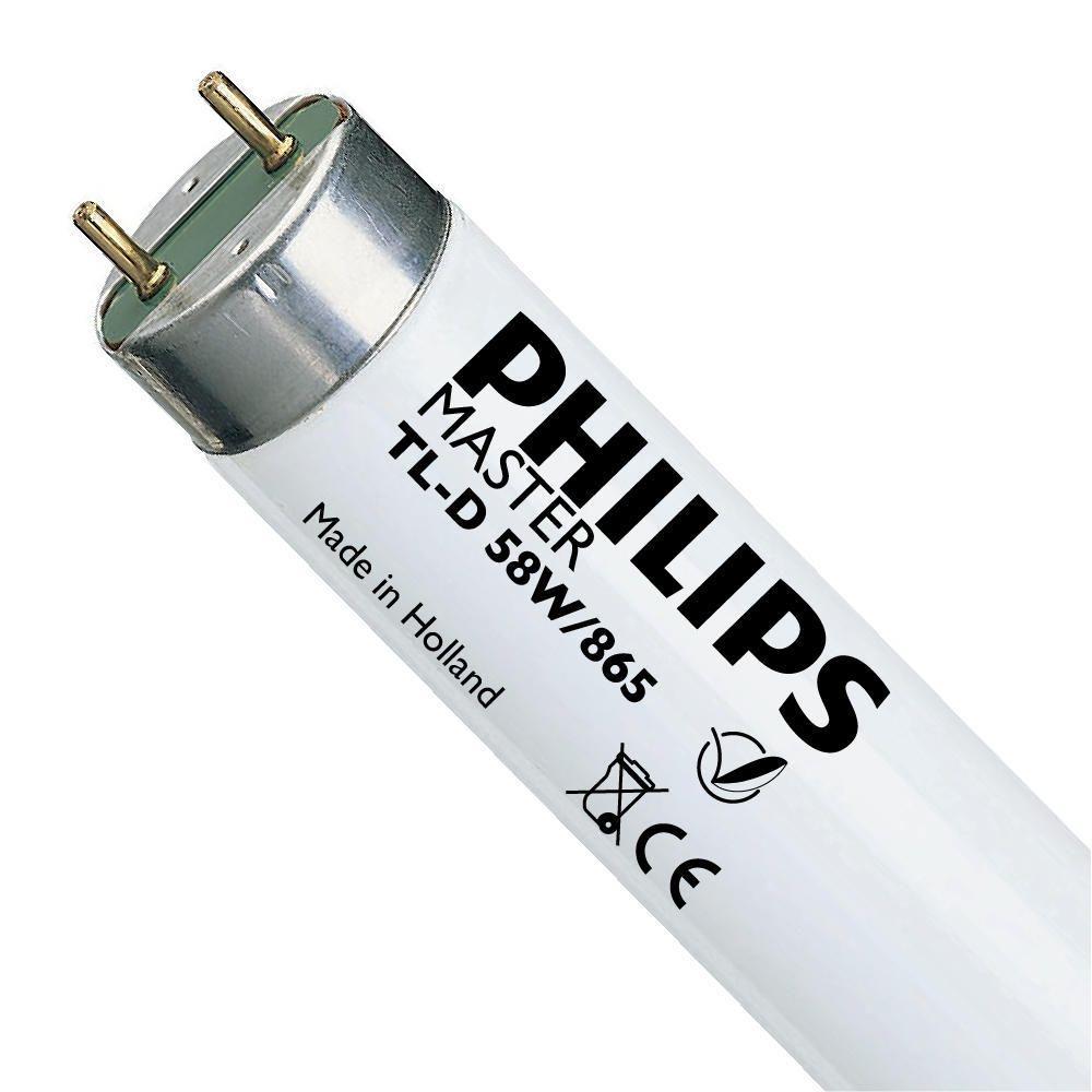 Philips TL-D 58W 865 Super 80 (MASTER)   150cm - Tageslichtweiß