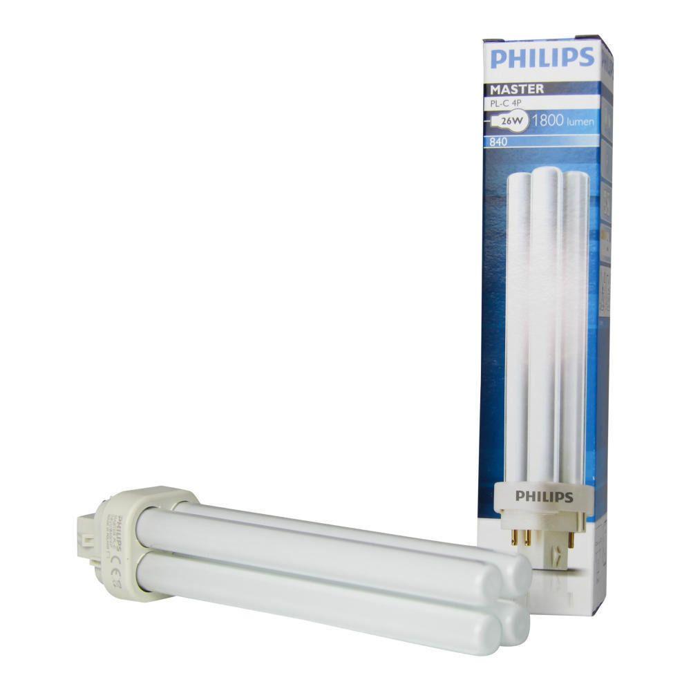 Philips PL-C 26W 840 4P (MASTER)   Kaltweiß - 4-Stift
