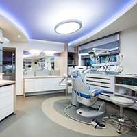 Beleuchtung Behandlungszimmer