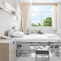 Beleuchtung Patientenzimmer