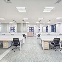 nachhaltige Bürobeleuchtung