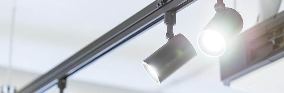 GU10 LED-Lampen als Schienenstrahler