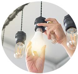 Wechsel von Glühlampe zu LED