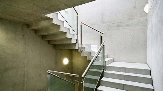 LED-Beleuchtung im Treppenhaus