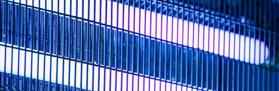 Insektenlampe mit elektrischen Gittern