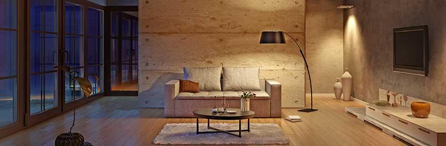 LED-Beleuchtung für das Haus