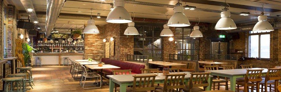 Restaurantbeleuchtung