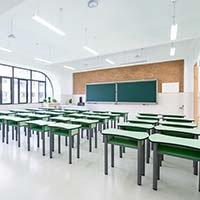 Beleuchtung im Klassenzimmer