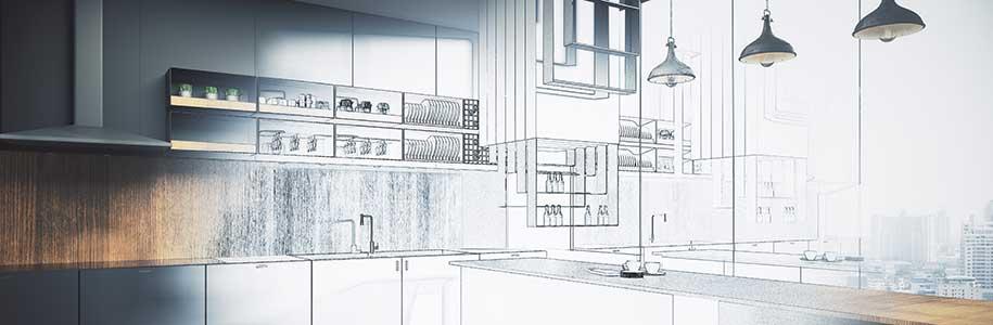 Planung LED-Beleuchtung Küche