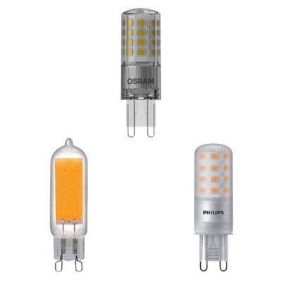 Drei G9 LEDs