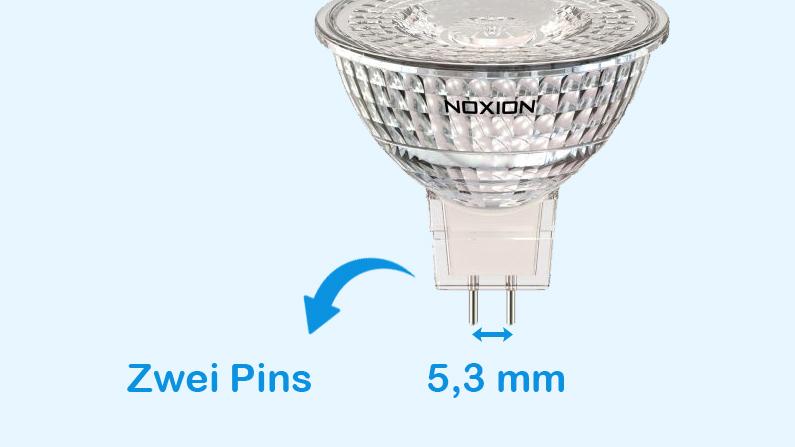 Aufbau einer GU5.3 Lampe