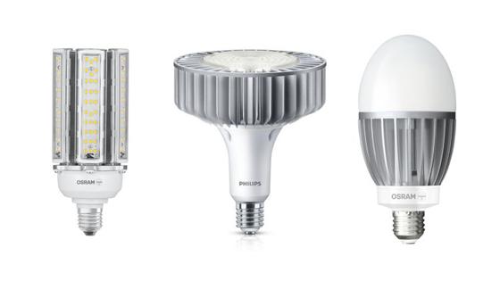 Verschiedene Arten von LED-Gasentladungslampen