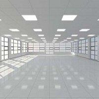 Büro mit LED-Panels