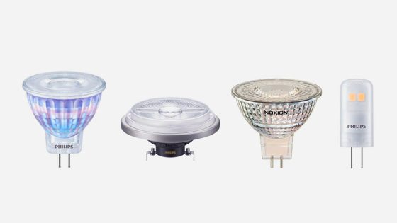 LED-Lampen mit 12 Volt