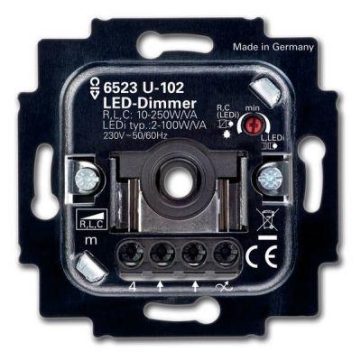 LED-Dimmer für Lampen bis 100 W