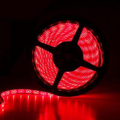 LED Streifen 5M 24W Rot