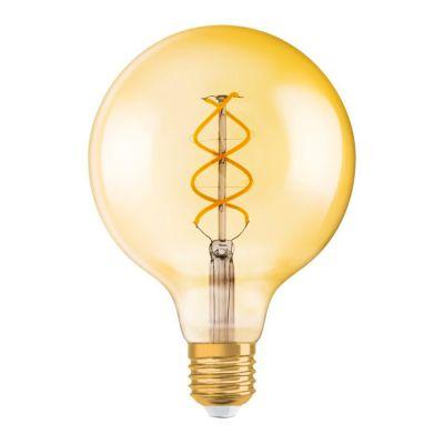 E27 Globe Filament Lampe