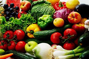 Supermarktbeleuchtung für Gemüse und Obst