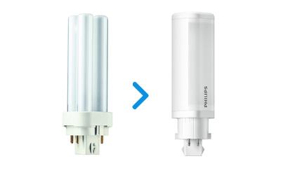 PL-C und Dulux LED